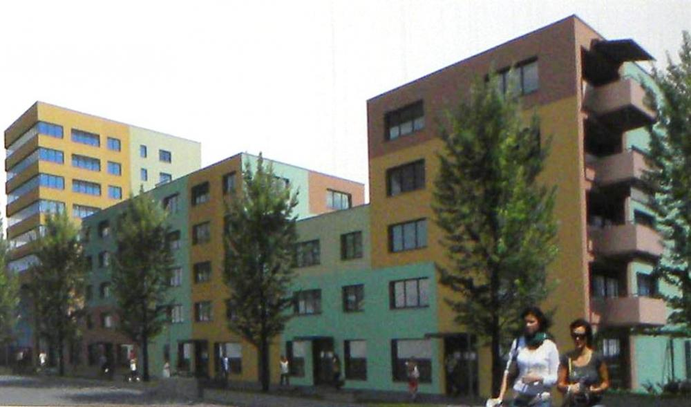 Ueberbauung Zentrum Staldenbach