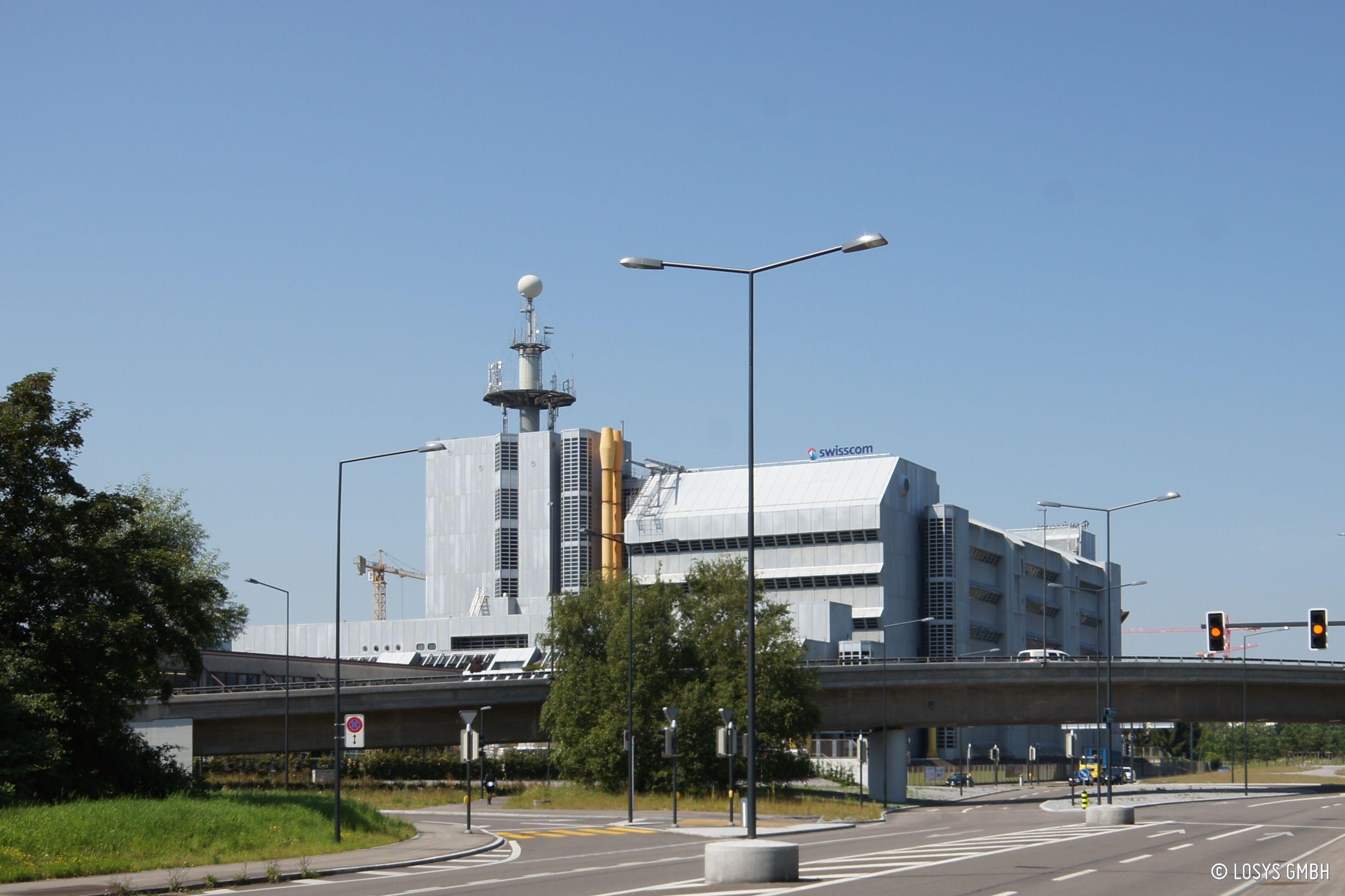 Rechenzentrum Swisscom Herdern