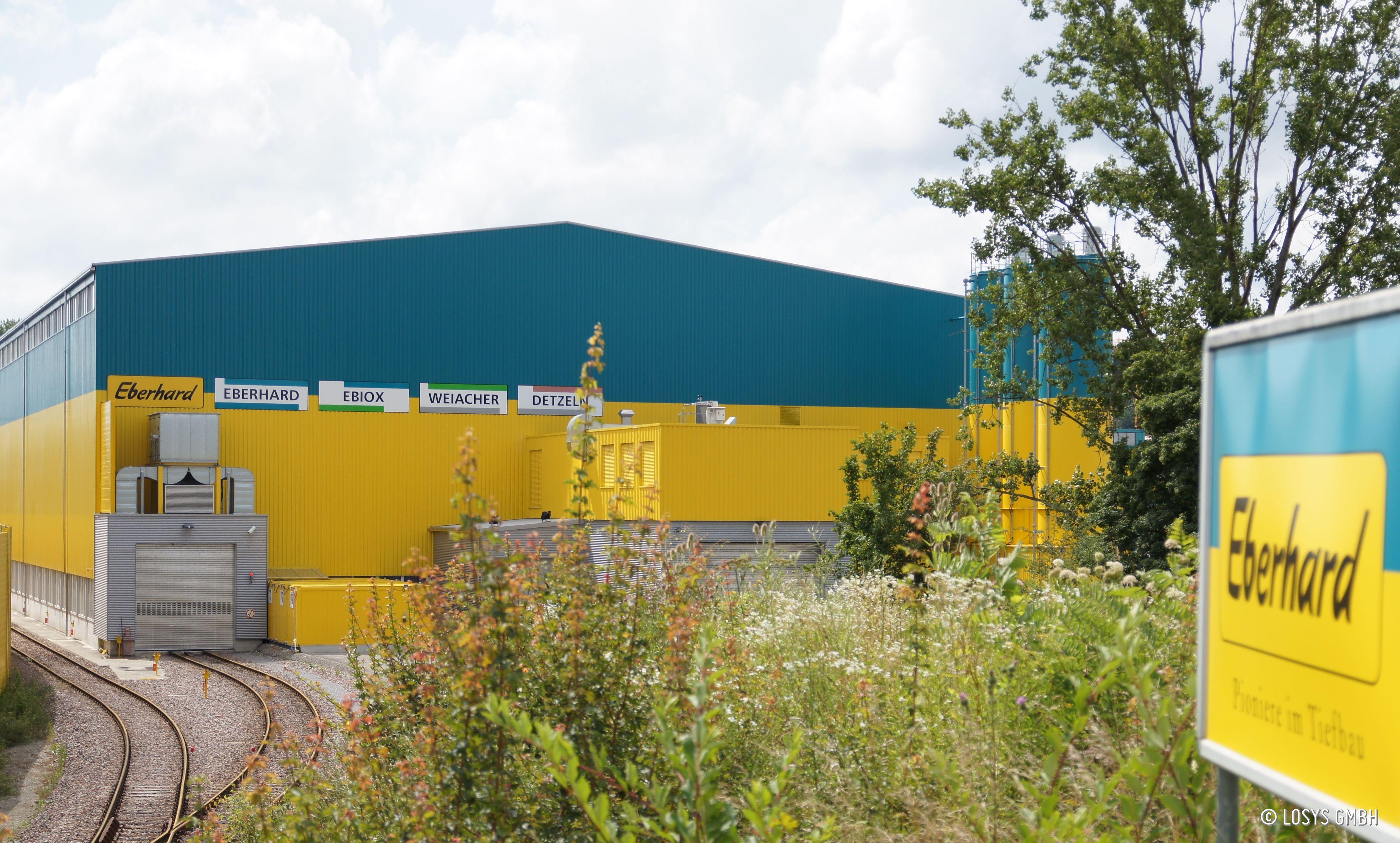 Bodenbehandlungszentrum Eberhard Recycling