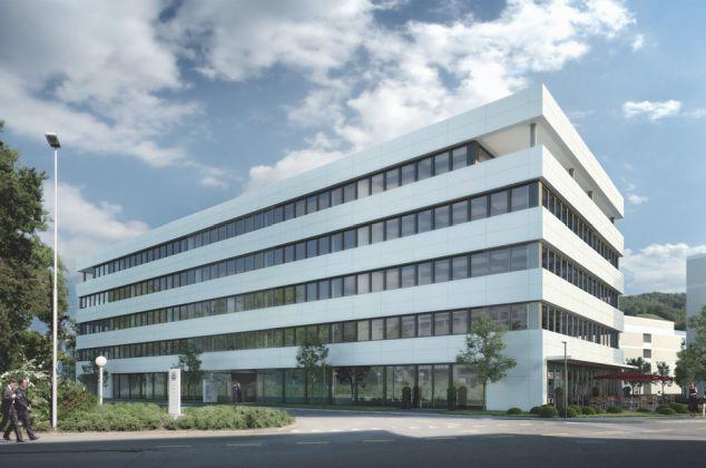Whitegate Bürogebäude SUVA Baar
