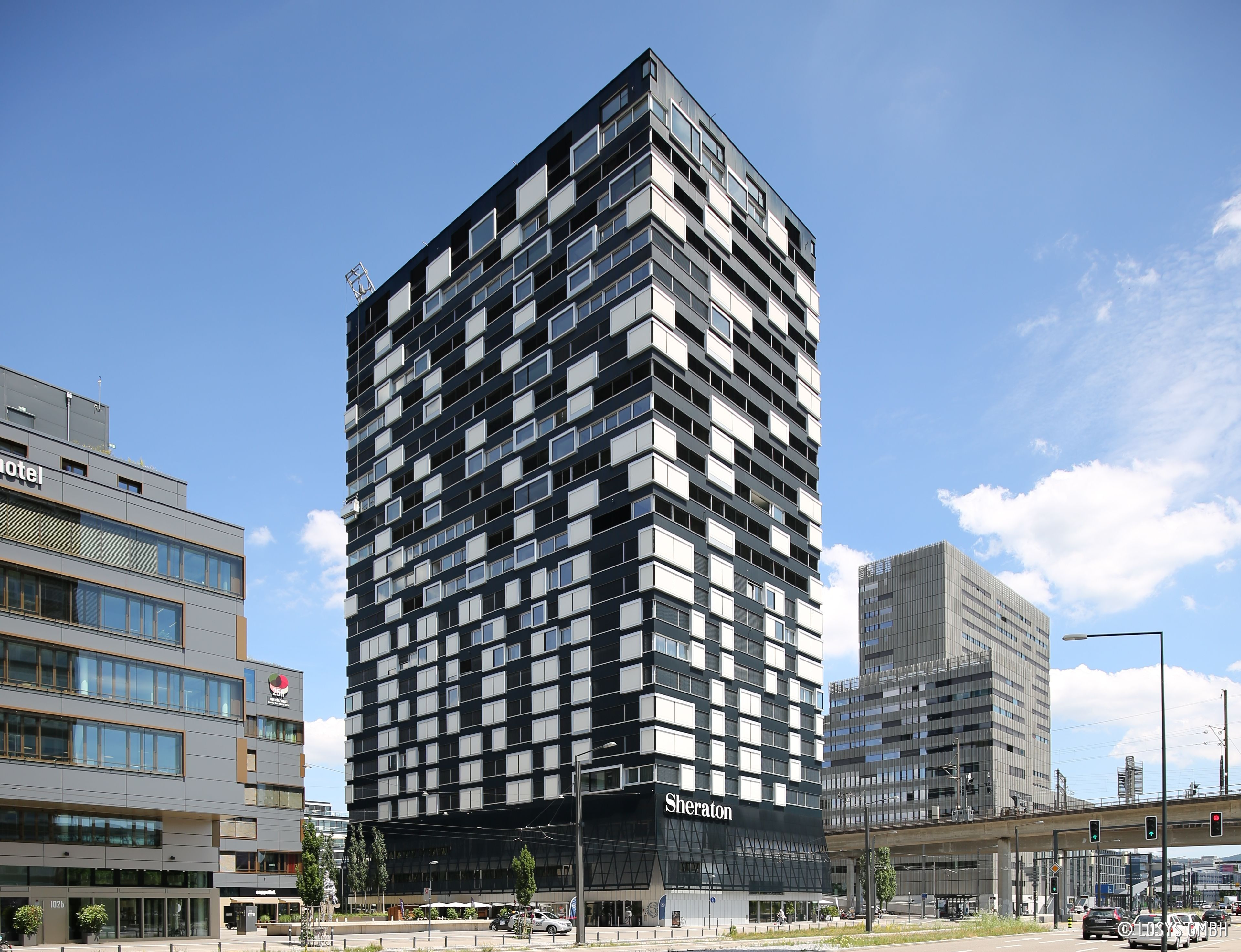 Hochhaus Hardturmpark