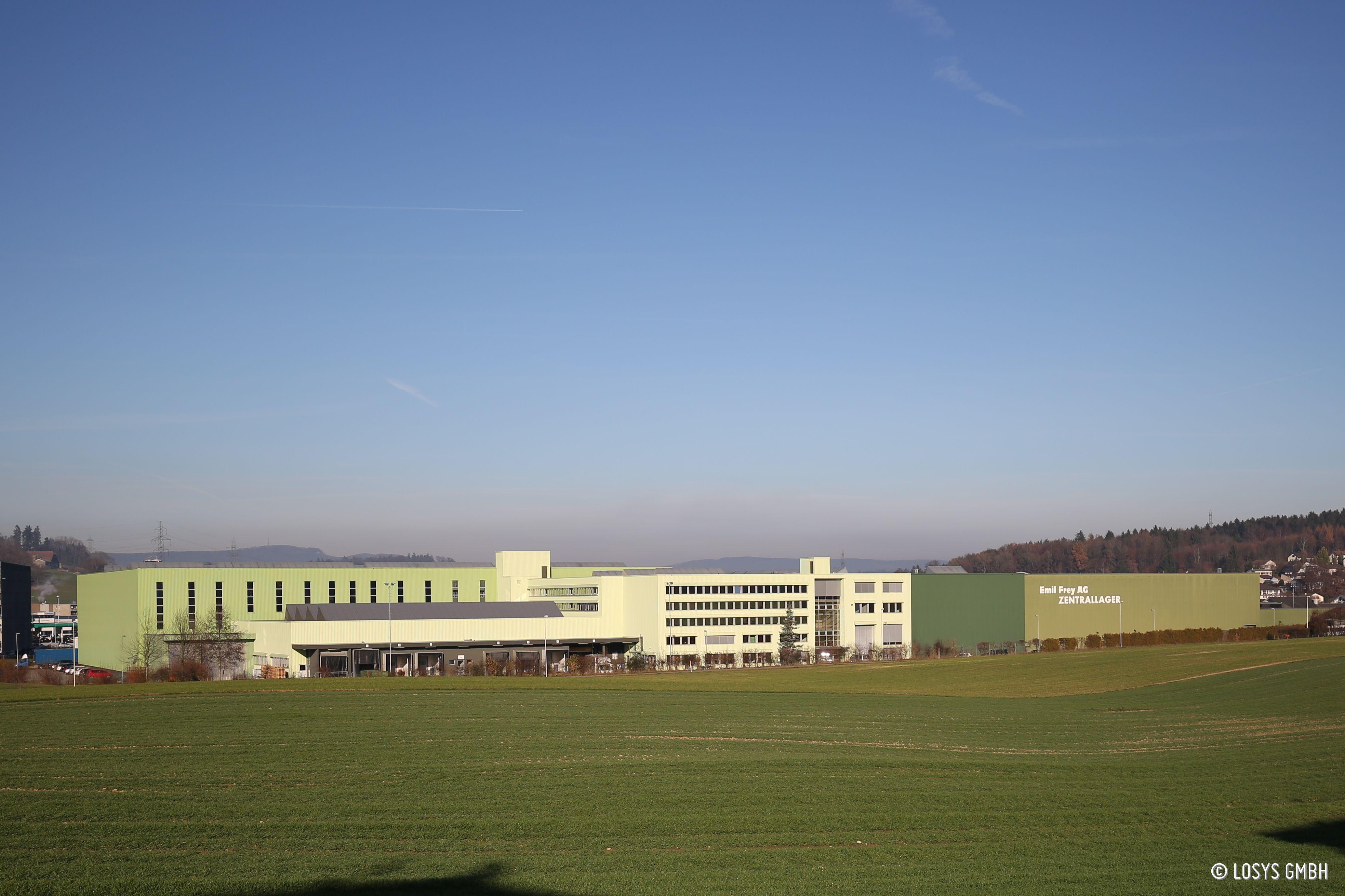 Emil Frey Betriebs AG, Zentrallager