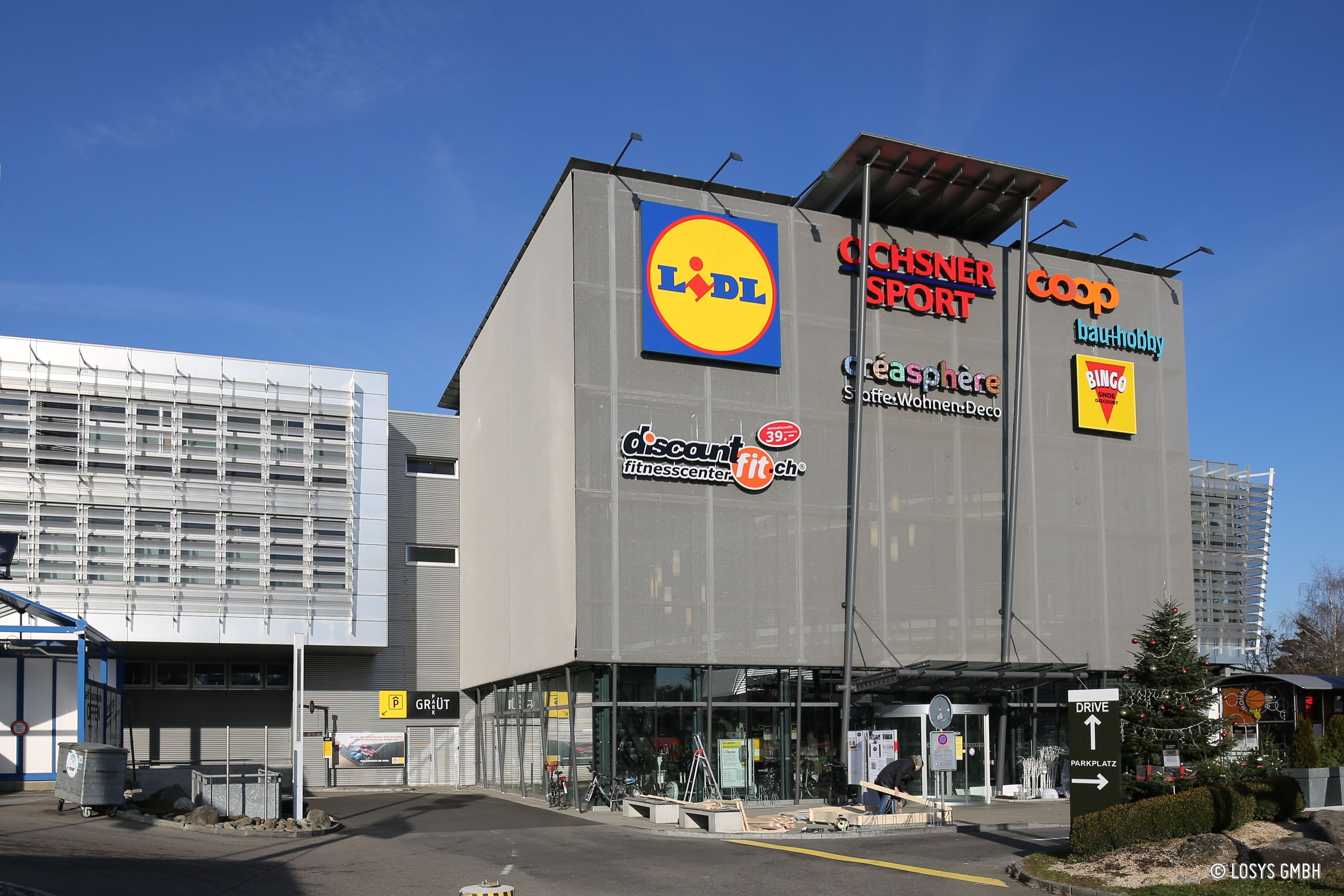 Einkaufszentrum Grütpark