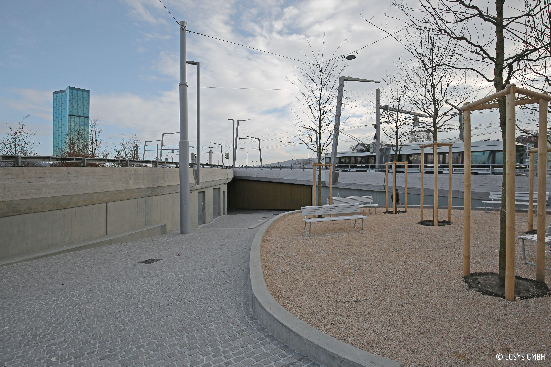 Tramverbindung Hardbrücke Widerlager