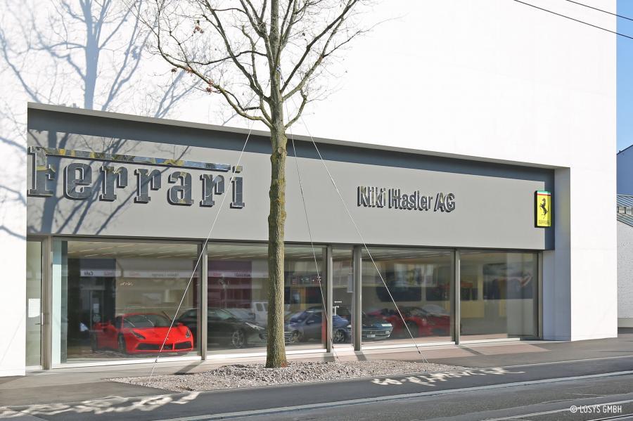 Niki Hasler AG Offizielle Ferrari und Ferrari Classiche Vertretung